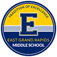 East Grand Rapids Middle School logo